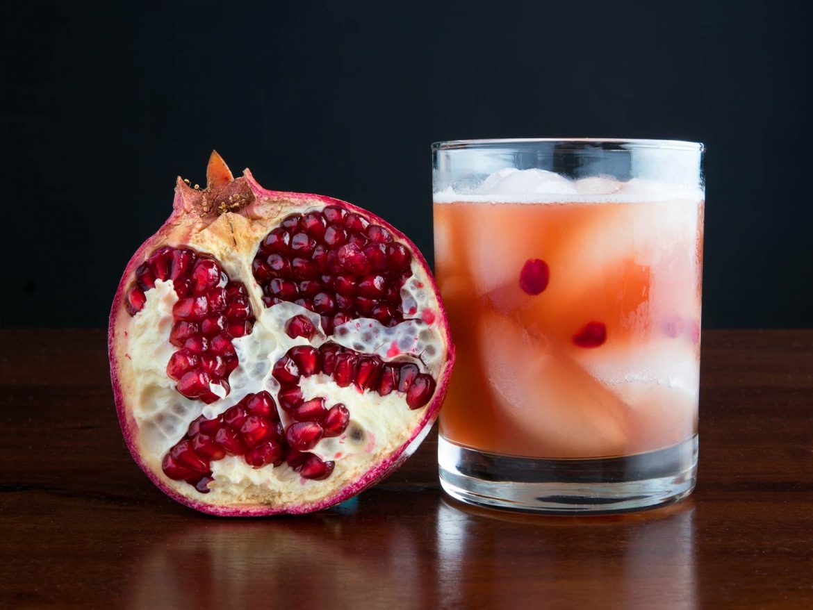 Blood & Clay - Cocktails with Pomegranate Juice | Tatiana East