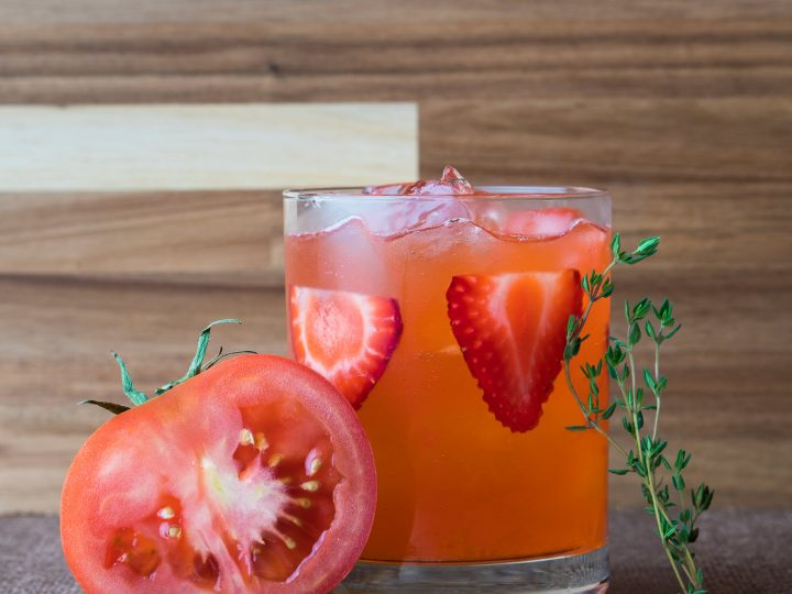 Thyme for Tomato, Strawberry, and Gin