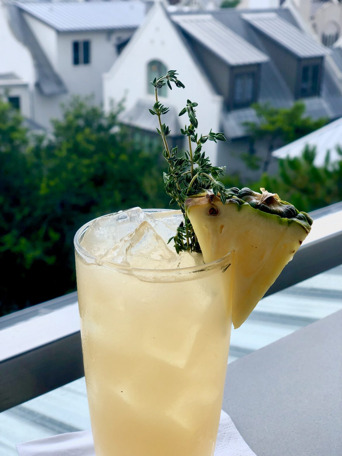 Summer Thyme Cocktail